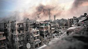 «De la apariencia del mundo», fotografía de Maysun sobre la guerra en Siria