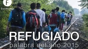 «Refugiado», palabra del año 2015 para la Fundéu BBVA