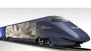 El tren bala japonés será un museo de arte contemporáneo