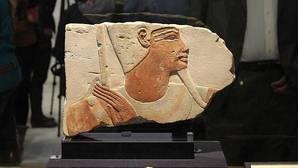 Egipto recupera medio millar de piezas expoliadas, algunas durante su revolución