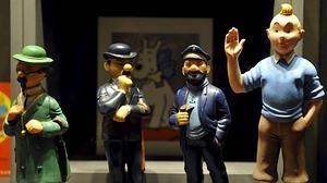 Hergé y Tintín, canónicos