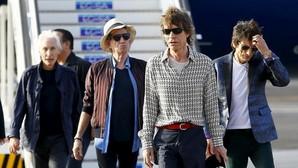 ¡Hola Cuba!, el saludo de los Rolling Stone a su llegada a La Habana