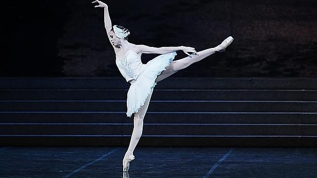 Mariafrancesca Garritano durante una de sus actuaciones