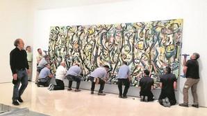 La furia desbocada de Pollock