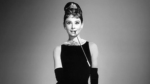 Audrey Hepburn, en «Desayuno con diamantes»