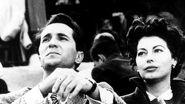Luis Miguel Dominguín, con Ava Gardner
