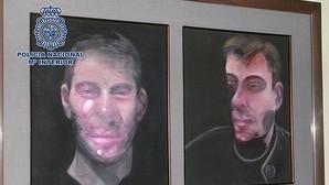 Siete detenidos en Madrid relacionados con el robo de cinco cuadros del pintor Francis Bacon