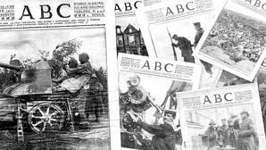 Así contó el diario ABC «la madre de todas las guerras»