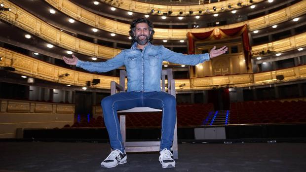 Árcángel en ell escenario del Teatro Real, donde actuará el 30 de junio
