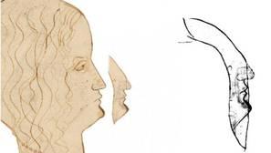Aparece un perfil oculto de Leonardo en el Códice Atlántico, relacionado con la Mona Lisa