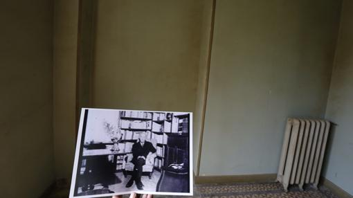 En esta estancia se ubicaba la biblioteca, donde Stendhal y Balzac tenían su rincón