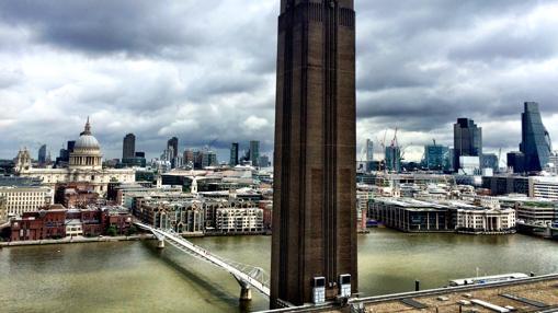 Espectacular vista de Londres desde el nuevo edificio