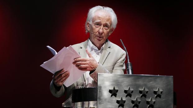 Albert Boadella, durante la presentación de la nueva temporada de los Teatros del Canal