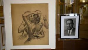 Un dibujo de Degas confiscado por los nazis, subastado por 462.500 euros