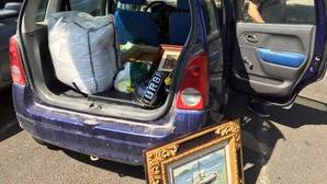La Policia recupera seis obras de arte valoradas en 50.000 euros