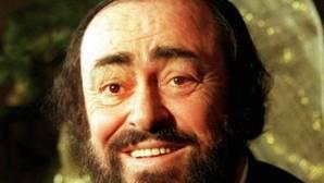 Luciano Pavarotti, en una foto de archivo