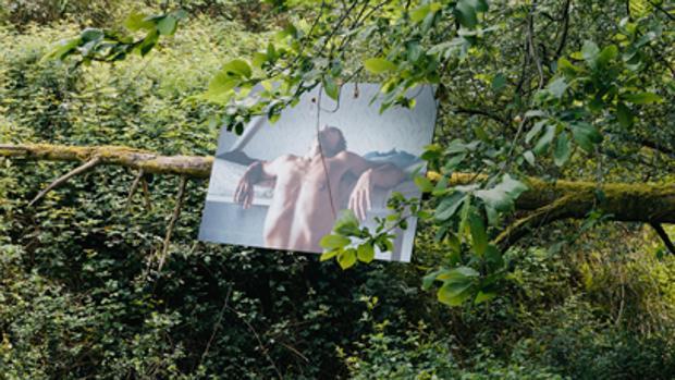 Detalle del montaje de «Bidean» en el BAFFEST