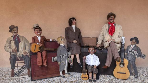 Muñecos para La Orquesta Argentina de Eugenio Balder