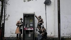 Desaparece un mural de Banksy durante la rehabilitación de una vivienda