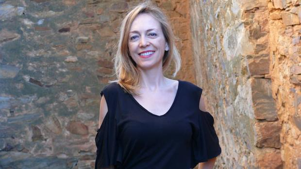La autora de «Mi nombre es Sena», Marta del Riego Anta