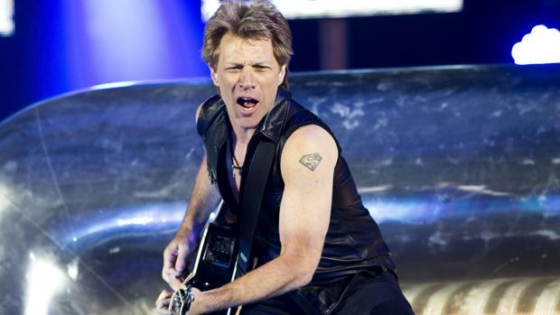 Bon Jovi en un concierto en 2013