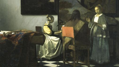 «El concierto« de Vermeer