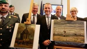 Los Van Gogh robados en 2002 estaban en manos de uno de los capos más duros de la mafia