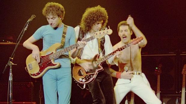 El grupo Queen en un concierto