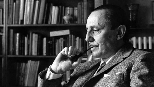 El escritor Antonio Buero Vallejo