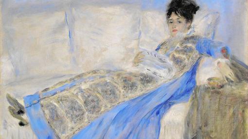 El «Retrato de la mujer de Monet» pintado por Renoir podrá verse en el Thyssen