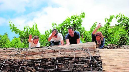 El programa «Riverside» ha llevado a varios artistas al entorno rural gallego