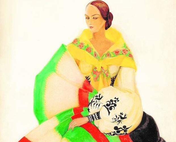«Zamorana», dibujo de la Colección ABC publicado en 1934