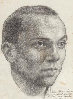 Miguel Hernández retratado por Buero Vallejo