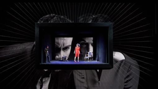 Imagen del montaje de «Quartett» en La Scala de Milan