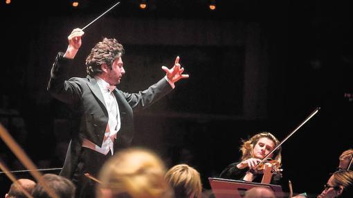 David Afkham, director titular de la Orquesta Nacional de España