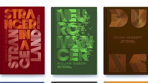 Algunas de las portadas creadas por Trochut para la serie Penguin Galaxy