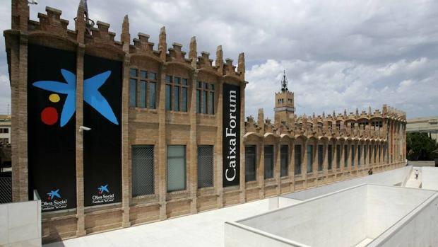 Sede de Caixafórum en Barcelona