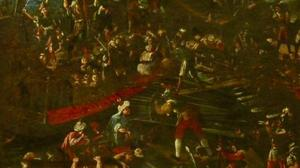 Así combatió Cervantes en la batalla de Lepanto, según Ferrer-Dalmau