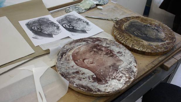 Imagen que documenta el proceso empleado por Trullo para «Coined / Acuñados»