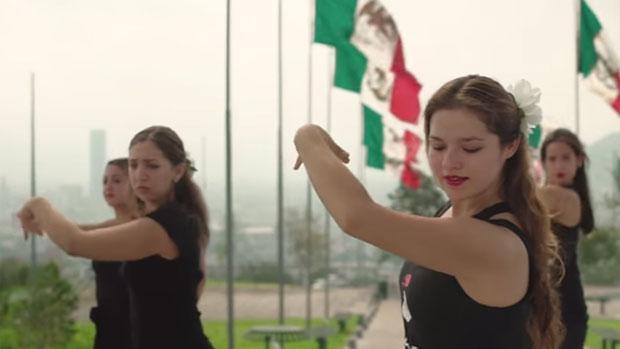 Flashmob de Farruquito desde Monterrey (México)