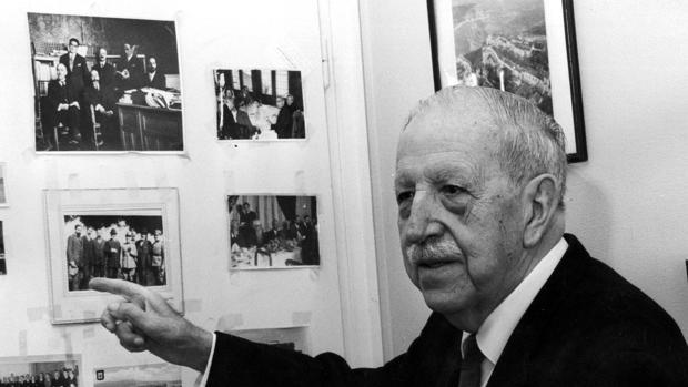 El historiador Américo Castro