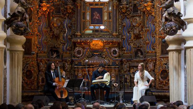 Rocío Márquez y Fahmi Alqhai en San Luis de los Franceses