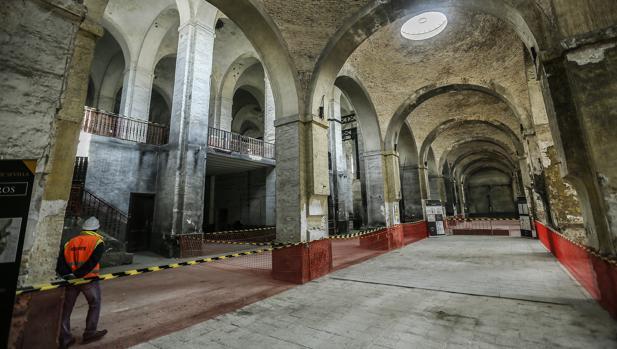 Interior de la Real Fábrica de Artillería