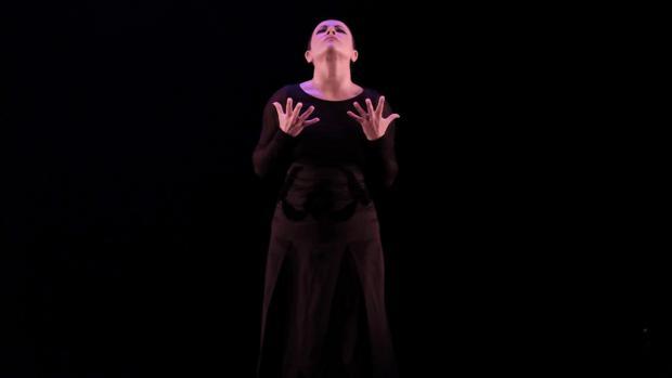 Eva Yerbabuena en su actuación