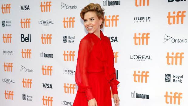 Scarlett Johansson, en Toronto