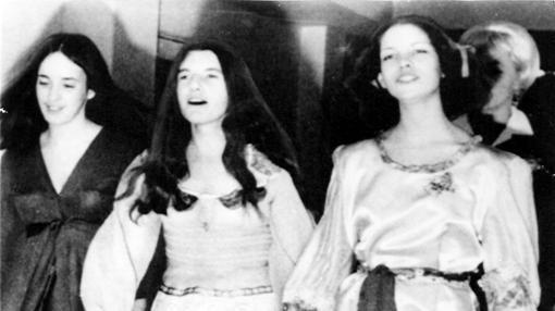 Susan Atkins, Patricia Krenwinkel y Leslie van Houghton
