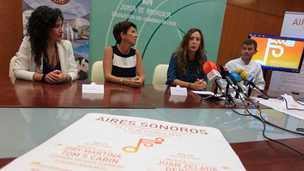 Kika Millán, Fátima Yráyzoz, Remedios Palma y Javier Pajuelo