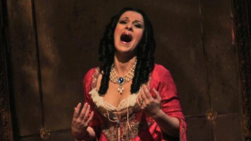 Angela Gheorghiu, en «La traviata»