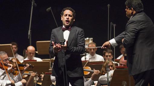 Juan Diego Flórez, en un recital en Perelada