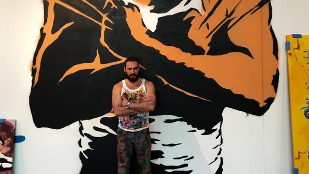 El artista Antonio de Felipe